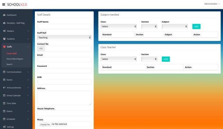 school software template - 6