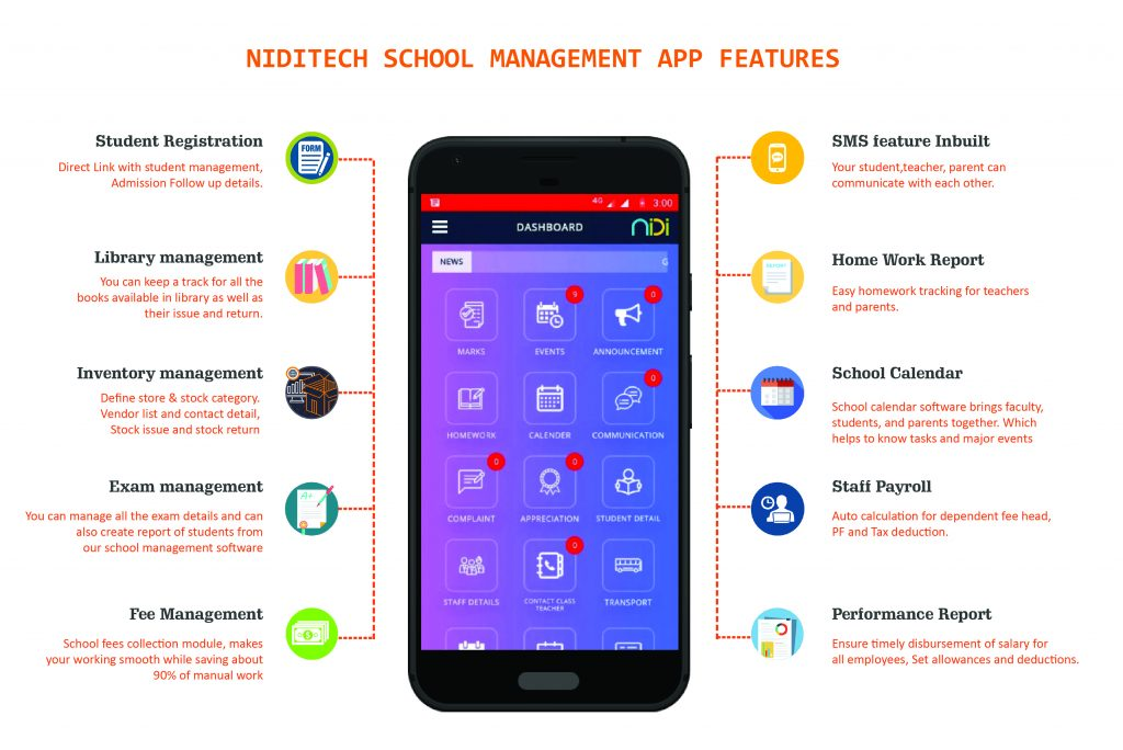 School management app